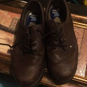 Other - Men leather brown work shoes